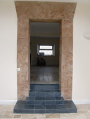 Case study doorway and hall