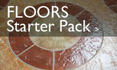 Floors - Decorative concrete starter packs