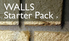 Walls - Decorative concrete starter packs